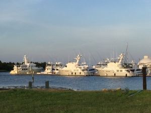 Three Nordhavns at Morehead City Yacht Basin